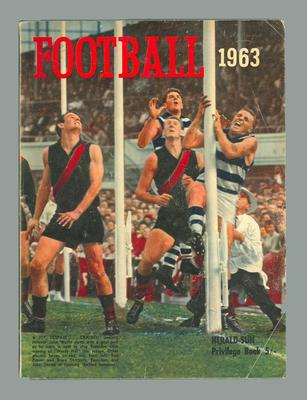 """Magazine, """"Football 1963"""" - published by Herald-Sun"""