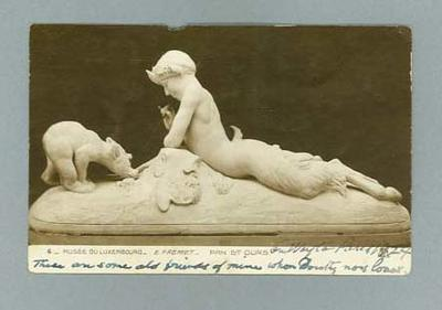 Postcard addressed to Ivan Stedman, c1924