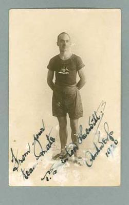 Postcard, image of Sinton Hewitt - 1920