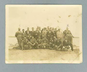 Photograph of group, Australian Championships in Hobart c1920s