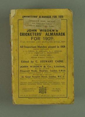 Wisden Cricketers' Almanack, 1929