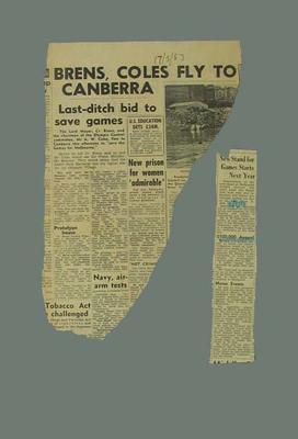 Newspaper clippings related to 1956 Olympic Games