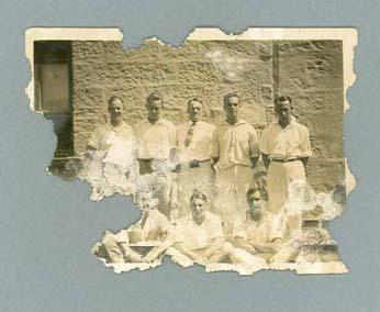 Group photograph, Sydney v Melbourne competitions - 1927