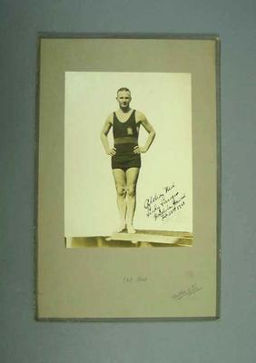 Photograph of Ludy Langer, c1921