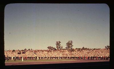 Transparency - 'Closing Day Parade', taken by William Ager, at 1962 BE & CG, Perth
