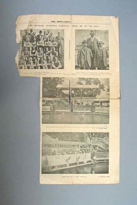 "Newspaper clipping, ""The Bendigo Swimming Carnival"" - The Bendigonian, 2 Jan 1919"