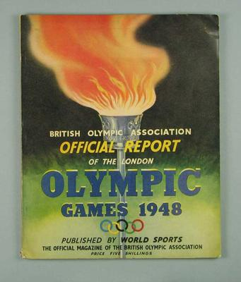 British Olympic Association Official Report of the 1948 London Olympic Games