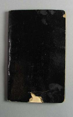 Scrapbook, details cricket and lacrosse activities of F A Dobbie - 1920-30