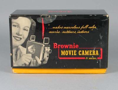 Box, Kodak 'Brownie' movie camera c1953