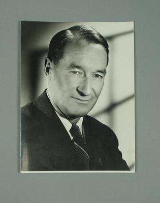 Photograph of George Moir, 1956; Photography; 1987.1627.292