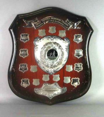 Shield - Emily Brooks Memorial Trophy presented by V.W.A. Ex-Athletes Club