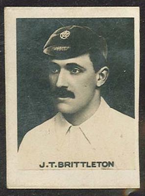 Trade card featuring Thomas Brittleton c1930s