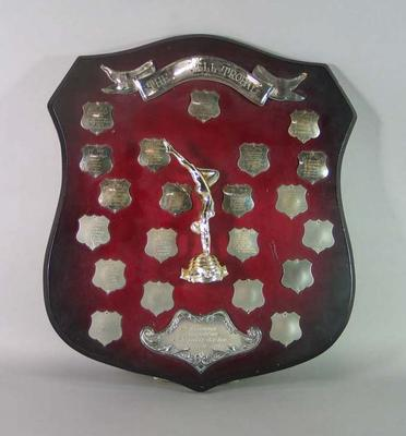 The Shell Trophy, Gymnastics, annual competition between State Teams of Junior Girls, 1969-1985; Trophies and awards; 1998.3402.7
