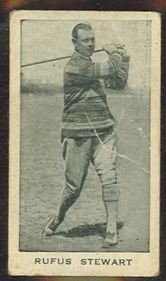 Trade card featuring Rufus Stewart c1930s
