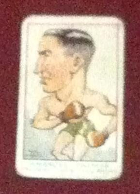 Trade card featuring Ambrose Palmer c1930s