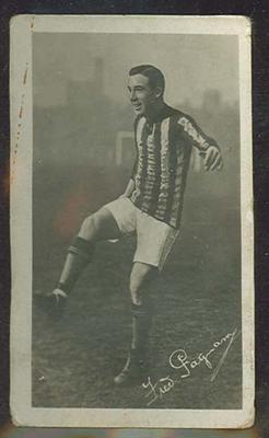Trade card featuring Fred Pagnam c1930s