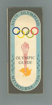 Map, 1956 Olympic Games