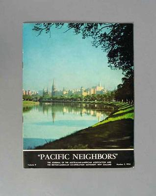 Magazine, Pacific Neighbours vol 9 no 3 1954; Documents and books; 1987.1627.338