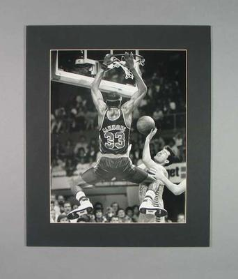 Photograph of basketballer Willie Simmons, 1988 NBL Grand Final; Photography; 2006.4527.5