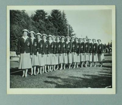 Photograph of Australian female athletes, 1954 British Empire & Commonwealth Games