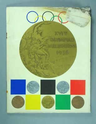 Souvenir book, 1956 Olympic Games