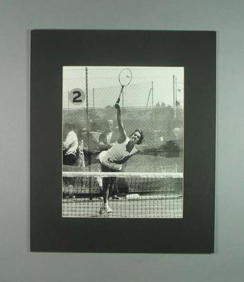 Photograph of Australian tennis player Evonne Goolagong, 1972; Photography; 2006.4527.33