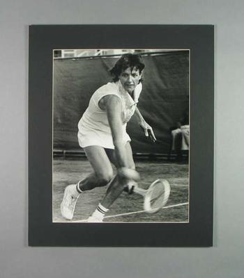 Photograph of Margaret Court, 1976 Toyota Women's Classic at Kooyong; Photography; 2006.4527.29