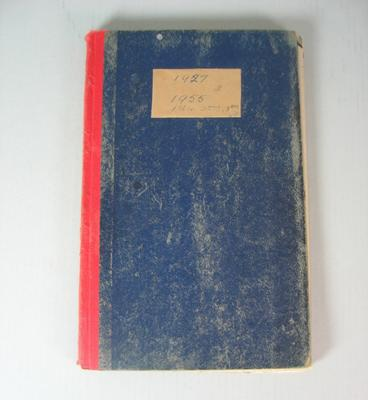 Federal Football League Game Register, 1927 and 1955