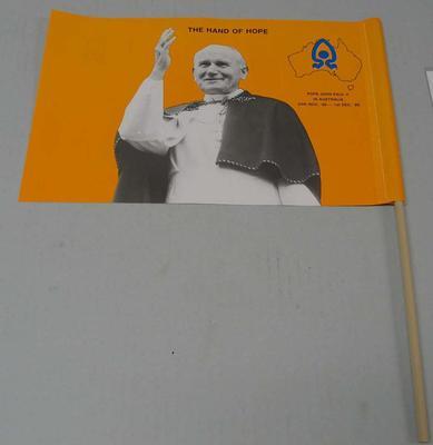 Flag, 1986 Papal Visit