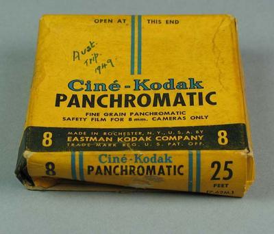 8mm film of Australian trip, 1949