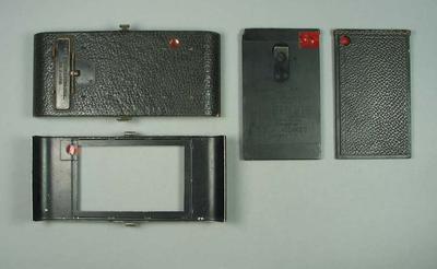 Camera parts x 4 relating to No. 3A Folding Pocket Kodak Camera