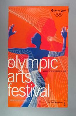 Poster, Sydney 2000 Olympic Arts Festival