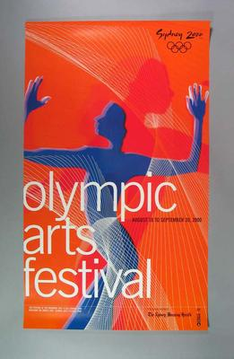 Poster, Sydney 2000 Olympic Arts Festival