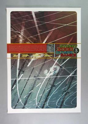 Sydney 2000 Olympic Games poster, designed by Andrew Hoyne