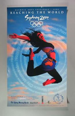 Poster, Olympic Arts Festival 1999; Documents and books; 2002.3836.38