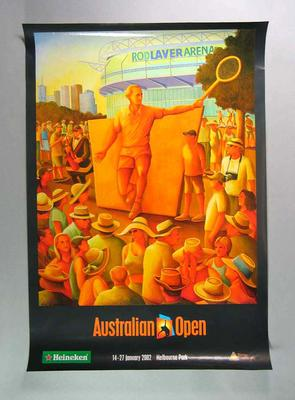 Poster - Australian Tennis Open - 14-27 January 2002
