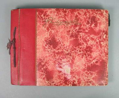 Photograph album, contains material associated with Allan Mott c1930s