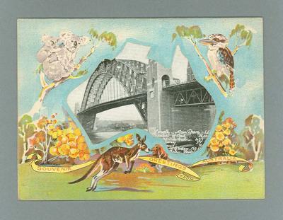 Postcard from Sydney, c1930s