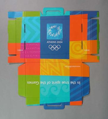 Cardboard box, 2004 Athens Olympic Games Opening Ceremony