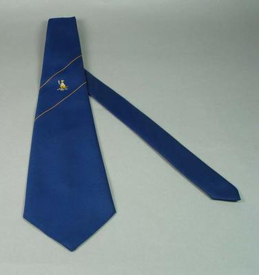 Commemorative tie for Australian Cricket Society World Tour 1979; Clothing or accessories; M15556