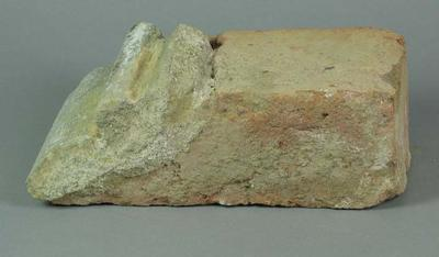 Piece of brick from the 1883 Grandstand at the Melbourne Cricket Ground