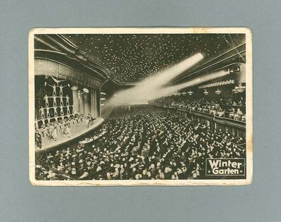 Postcard - Winter Garden theatre Berlin - Chris Wheeler collection c. 1936