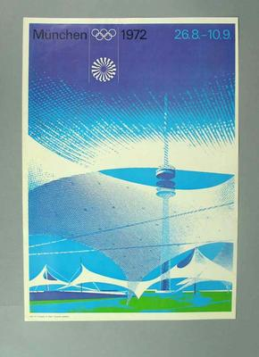 Poster, 1972 Olympic Games