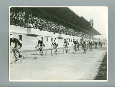 Photograph - 100 kilometre Road Race 1936 Berlin Olympic Games, Chris Wheeler & Tas Johnson