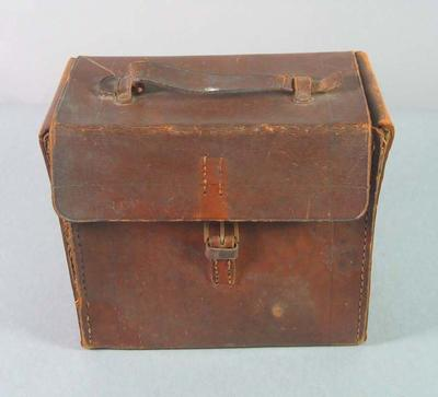Camera case for No.2-C Box Brownie camera used by T.H. Harry Morris