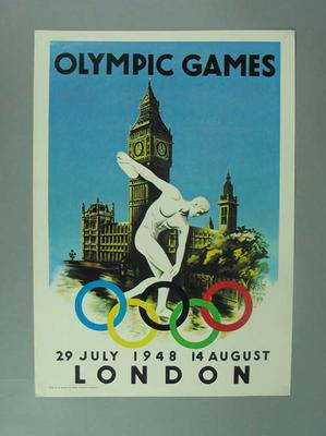 Poster, 1948 Olympic Games