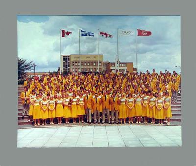 Photograph of Australian Olympic team, Montreal 1976