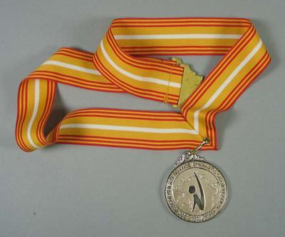 Silver Medal - 1992 Posco Pacific Alliance Gymnastic Championships, Seoul, Korea