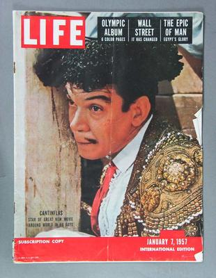 "Magazine - ""Life International"", Vol 22 No 1, 7 January 1957"
