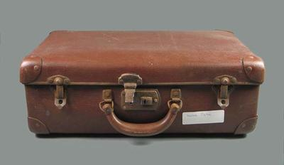 Case, used to house boxes of glass negatives; Personal effects; 1995.3109.6